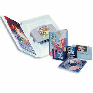 10x Universal game case for Snes, N64, Sega Megadrive (Genesis), Master system
