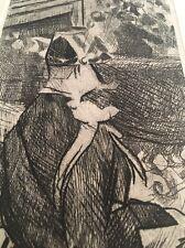 Jacques Villon / Etching / Fete Champetre (circa 1865)