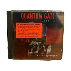 Quantum Gate The Saga Begins An Interactive Movie Greg Roach NEW
