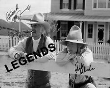 LONESOME DOVE  Robert Duval & Ricky Schroder Autographed Copy 8x10 Reprint