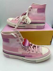 Converse x Millie Bobby Brown All Star Hi 'Petal Pink' Women's Sneakers 167298C