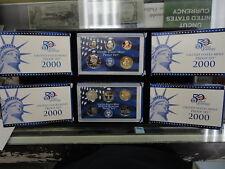 6 Set Lot 2000-S 10 Coin Proof Sets ORIGINAL