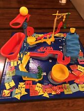 Vintage 1986 Mouse Trap Game Parts Pieces Tub Man Cage Helping Hand Ball