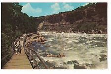 GREAT GORGE WHIRLPOOL RAPIDS Promenade Boardwalk Niagara Falls Canada Postcard