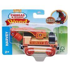Fisher Price Thomas & Friends Wood HARVEY Train Engine Crane FHM33 - Wooden