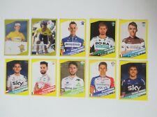 Lot de 10 Images Panini Tour de France 2019 Merckx Hinault Sagan Bardet Demare