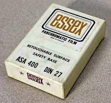UNOPENED 50 SHEET BOX ESSEX PANCHROMATIC 6x9 BLACK-AND-WHITE FILM
