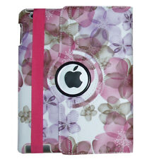 iPad 2 3 4 Air Mini 9.7 Case - 360 Rotating Magnetic Leather Smart Cover Stand