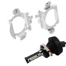 H7 LED Headlight Bulbs Adapter Holder Retainer For Audi BMW Mercedes-Benz B C VW
