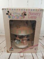 Vintage Disney Baby Mickey Minnie Mouse Nursery Lamp with Shade Nightlight & Box