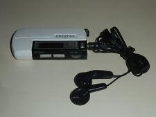 Creative Nomad MuVo TX FM White (256 MB) USB Digital Media Player FM Radio