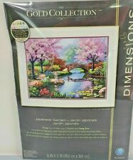 Dimensions Gold Collection Japanese Garden Cross Stitch Kit New Free Ship
