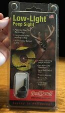 Red Hawk Hunting Low Light Peep Sight. 20/20. New In Package (Z7)