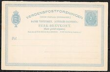 Danish West Indies covers 2c Reply Card  not sent