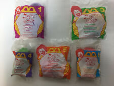 5 Vintage 1996 McDonalds Halloween McNugget Happy Meal Toy Nugget #'s 1,3,4,5,6