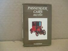 CARS OF THE WORLD IN COLOR BOOK: ( VINTAGE PASSENGER CARS FROM 1863-1904 )