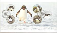 2014  ROSS DEPENDENCY -  PENGUINS OF ANTARTICA - MS150  FDC
