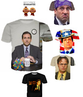 New The Office Series 3D T-shirt  Michael Scott Funny Tee Fashion Size S - 7XL