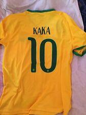 New Kaka #10 Brazil National Soccer Team Home Jersey Medium Large