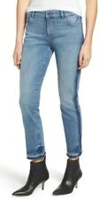 "DL1961 $208 ""Mara"" Instasculpt Straight-Fit Two-Tone Ankle Jeans 6 (26) NWT"