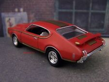 1969 69 HURST OLDS OLDSMOBILE CUTLASS 442 COLLECTIBLE 1/64 SCALE DIORAMA MODEL