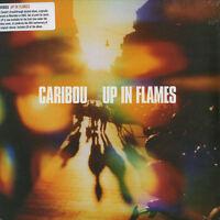 Caribou - Up In Flames (Ltd Black 1LP Vinyl + CD) BAY26V, Leaf, NEU+OVP!