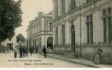 France Mayet - Hotel de Ville et Poste old postcard
