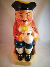 "Burlington Ware Toby Jug 9.5"" The Boozer Excellent Condition Vintage Pottery"
