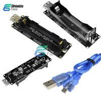 ESP32 ESP-32 LED Micro USB Wemos 18650 Battery Shield V3 3V/5V With Cable