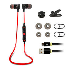 Wireless Bluetooth Sport Headset Stereo Headphone Earphone for iPhone LG Samsung