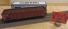 Märklin primex H0 4599 Vagón de Carga Abierto 532 0 365-5 dB con madera