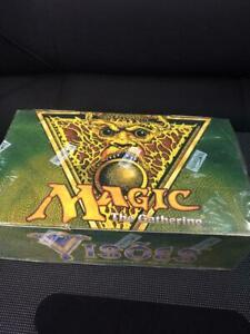 Rare MTG Visions Magic The Gathering Portuguese Unopened Box with Shrink New