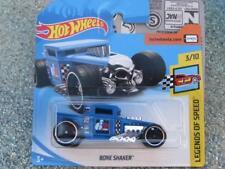 Hot Wheels 2018 #003/365 BONE SHAKER blue HW Legends of speed