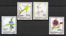 Botswana 1986 Christmas Flowers of Okavango MNH set S.G. 604-607