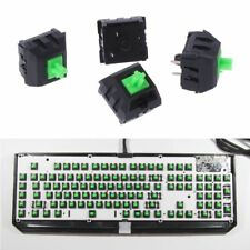 4Pcs Green Switches Axis for Razer Gaming Mechanical Keyboard for Cherry MX 3pin