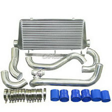 CXRacing Intercooler Kit + BOV For Toyota Supra MKIII 1JZ-GTE Stock Twin Turbo