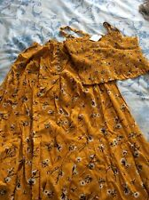 Next Girls top and skirt set age 15