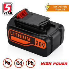 4.0Ah 20V Battery for Black & Decker LB2X4020 LB20 LBX20 Li-ion 20VOLT LBXR20 US
