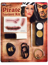 Ghost Ship Make Up Kit Zombie Pirate Face Paint Halloween Fancy Dress Face Paint