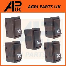 5x Case IH Ford John Deere Tractor Headlight Work Light Lamp Piano Rocker Switch