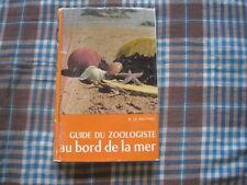 R.LE NEUTHIEC: Guide du zoologiste au bord de la mer. Delachaux et Niestlé