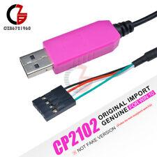 CP2102 USB to TTL RS232 Serial Original Cable 5V For WIN10 Arduino Raspberry Pi