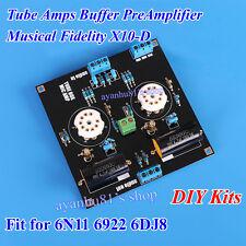 Musical Fidelity 6922 6N11 6DJ8 Tube Buffer Preamplifier Pre-amp Amp Board Kits