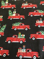 NEW TOILET LID TANK LID COVER HOLIDAY CHRISTMAS TREE TRUCK RED