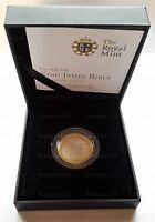 2011 Royal Mint  King James Bible  £2 Two Pound Coin Silver proof
