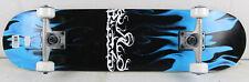 """BLEM Krown Rookie Blue Flame Complete Skateboard 7.5"""""""
