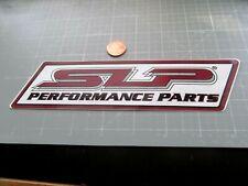 Slp Perf Parts Sticker Decal Original Old Stock Racing
