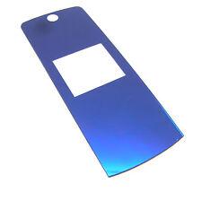 Display Glas Scheibe Aussen f, Motorola K1 KRZR Blau