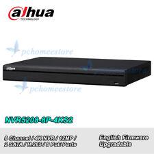 Dahua NVR5208-8P-4KS2 8 Channel 1U 8PoE 4K&H.265 Pro Network Video Recorder NVR
