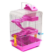 Hamster House Mouse Castle Habitat Mice Rat Cage Bottle 3 Layers Pet Supply Hot